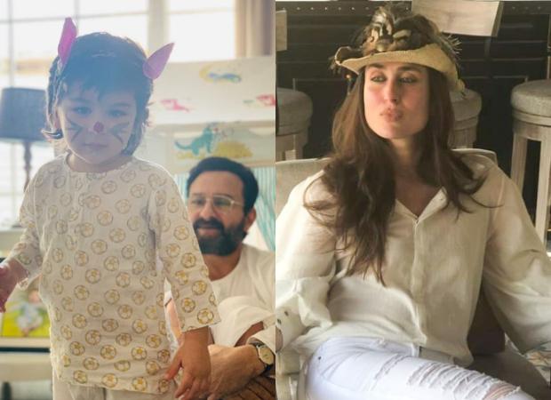 Saif Ali Khan turns hairstylist for son Taimur Ali Khan