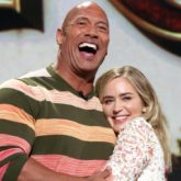 Dwayne Johnson and Emily Blunt to reunite for movie adaptation of Ball and Chain