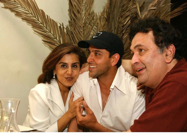 Hrithik Roshan pens a note on Rishi Kapoor's demise, thanks him for consistently supporting him