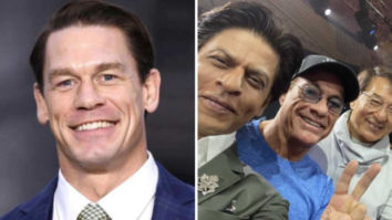 John Cena shares a picture of Shah Rukh Khan with Jean-Claude Van Damme and Jackie Chan