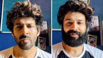 Kartik Aaryan shaves off his quarantine beard as his mom becomes the narrator