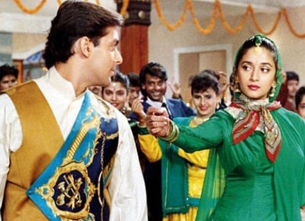 Madhuri Dixit says people loved her romantic banter with Salman Khan in Hum Aapke Hain Koun