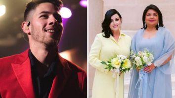 Nick Jonas shares a throwback video of Madhu Chopra and Denise Jonas getting their groove on