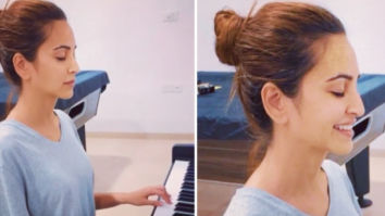 Pulkit Samrat shares a video of Kriti Kharbanda playing Money Heist's 'Bella Ciao' song on piano with her eyes closed