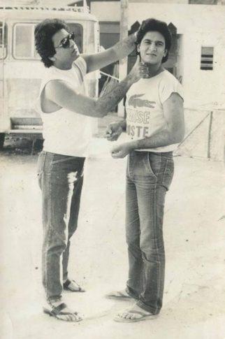Ramayan actor Sunil Lahri aka Lakshman shares a rare photo with TV's Ram Arun Govil