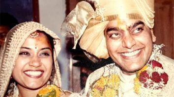Renuka Shahane and Ashutosh Rana celebrate 19 years of marriage with their wedding photo