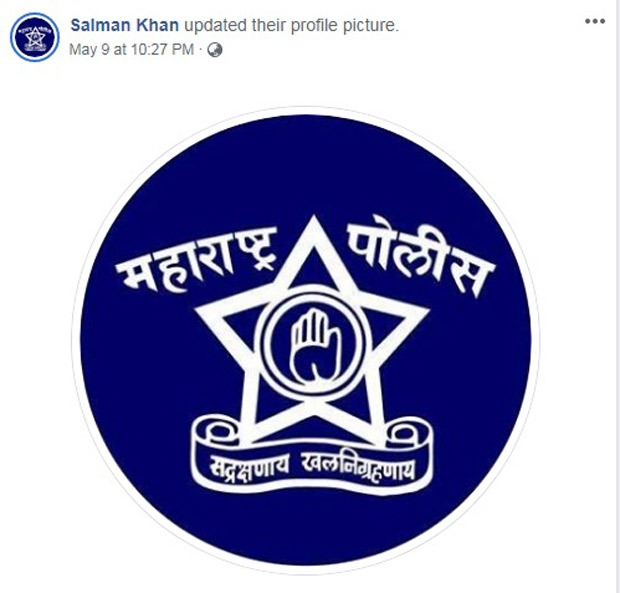 Salman Khan, Shah Rukh Khan, Ajay Devgn and other Bollywood celebrities change their social media pictures to Maharashtra Police logo