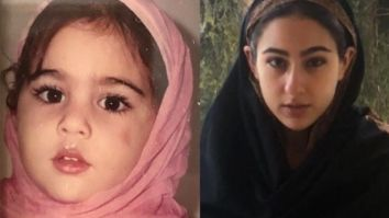 Sara Ali Khan wishes everyone 'Eid Mubarak' with a then and now picture