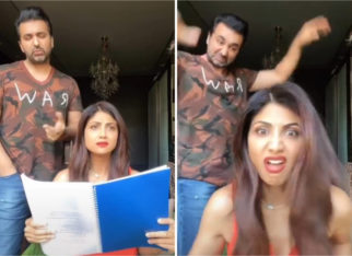 Shilpa Shetty gets pushed off to her 'mayka' by Raj Kundra in this hilarious TikTok video