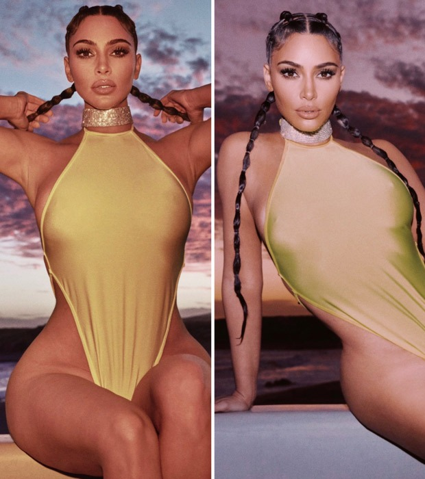 THROWBACK: Kim Kardashian sets the temperature soaring flaunting her enviable curves in a racy swimsuit