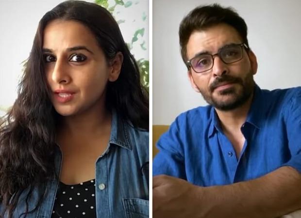 Vidya Balan teams up with Tumhari Sulu co-star Manav Kaul to warn citizens about rumours spreading like wildfire amid coronavirus pandemic