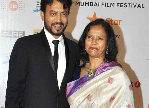 """""""How can I begin to feel alone when millions are grieving with us at the moment?""""- writes Irrfan Khan's wife Sutapa"""