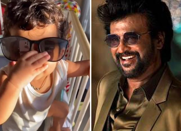 Watch: Sameera Reddy compares her 10-month-old daughter to Rajinikanth