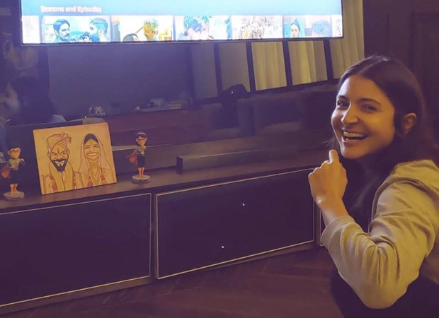 Anushka Sharma unintentionally offers us a glimpse of her marriage ceremony caricature, and we find it irresistible! : Bollywood Information 7