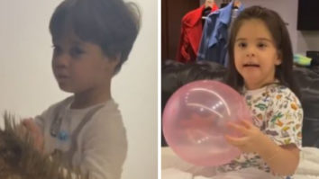 Watch: Karan Johar's twins Yash and Roohi name him Monkey