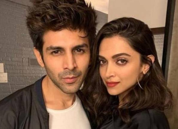 Deepika Padukone helps Kartik Aaryan solve his problem during an Insta-live session