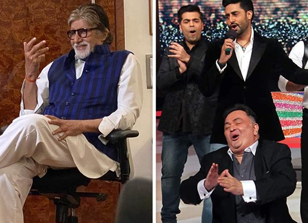 Amitabh Bachchan remembers Rishi Kapoor, shares a candid picture of him with Abhishek Bachchan
