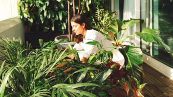 Anushka Sharma spends her Saturday morning with plants in her balcony garden