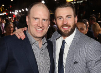 Captain America actor Chris Evans credits Marvel Studios President Kevin Feige for the success of the MCU