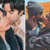 Demi Lovato gives sweet kisses to boyfriend Max Ehrich as she shares series of photos on his birthday