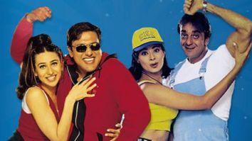 Govinda celebrates 21 years of Haseena Maan Jayegi starring Sanjay Dutt, Karisma Kapoor and Pooja Batra