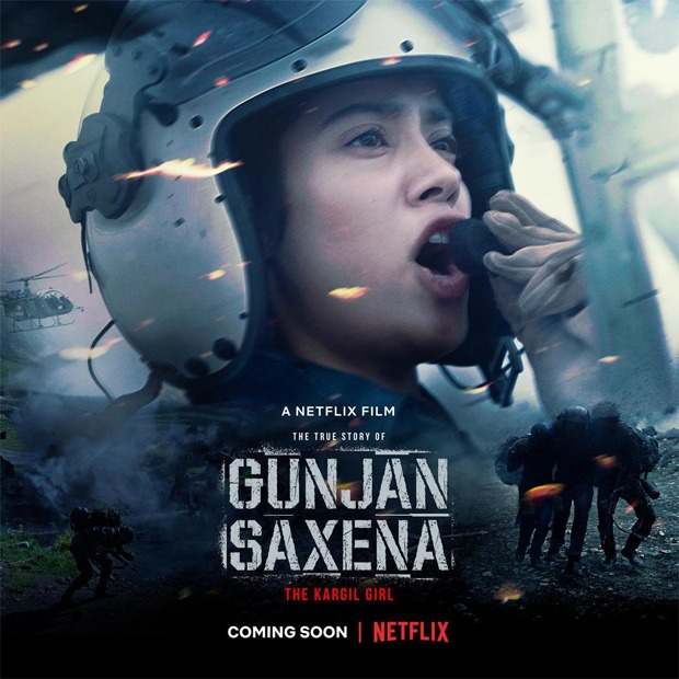 Janhvi as Gunjan Saxena; film to release on Netflix