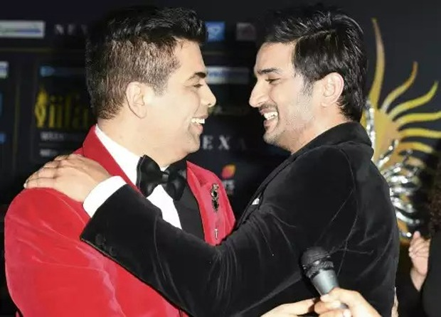 """Karan Johar shares a photo with Sushant Singh Rajput, says """"I blame myself for not being in touch with you"""""""