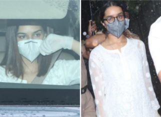 Sushant Singh Rajput's Raabta and Chhichhore co-stars Kriti Sanon and Shraddha Kapoor visits Cooper Hospital to pay last respects
