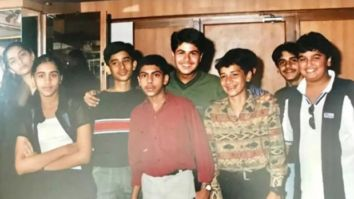 This old photo features Sonam Kapoor and Arjun Kapoor, can you spot them?