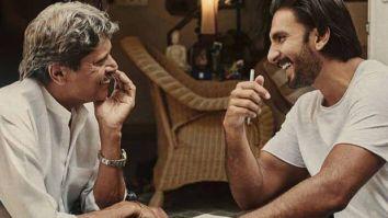 Throwback to when Ranveer Singh met Kapil Dev for '83 prep