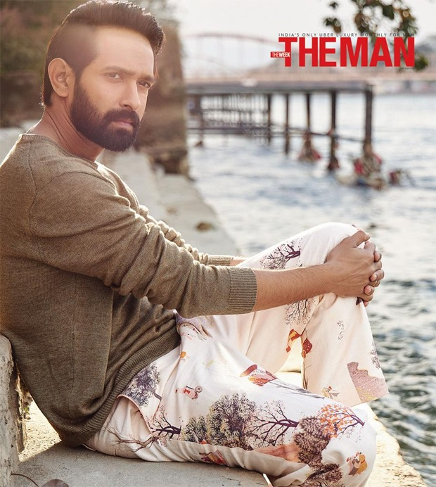 Vikrant Massey looks sharp on the cover of The Man