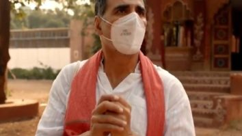 Akshay Kumar turns villager in this public service ad shot during the lockdown