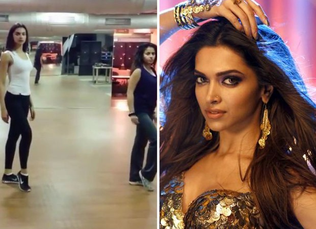 Throwback video: Deepika Padukone rehearses for the song Lovely from Happy New Year