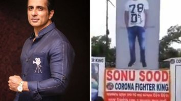 Odia fans honours Sonu Sood as Corona Fighter King with a big hoarding; actor responds