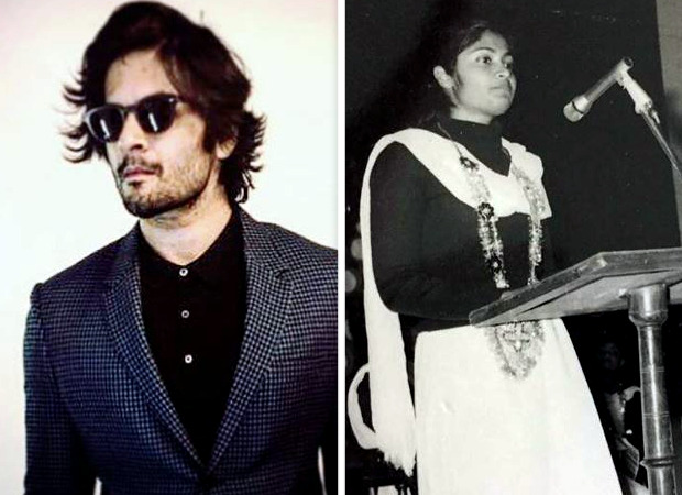Ali Fazal shares an old picture of his mother swearing-in as President of the union of AMU