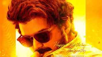 Makers of Master unveil special poster on Thalapathy Vijay's birthday
