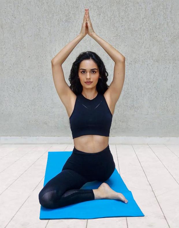Yoga Day 2020: Manushi Chhillar says yoga has made her stronger both physically and mentally