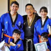 Madhuri Dixit reminisces the time she and her family earned the orange belt in Taekwondo