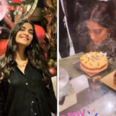 Sonam Kapoor has a midnight birthday party at home with her family; see pics