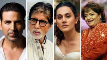 Akshay Kumar, Amitabh Bachchan, Taapsee Pannu mourn the loss choreographer Saroj Khan