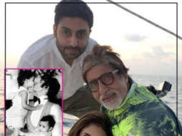 Amitabh Bachchan goes down memory lane to share photo with Abhishek and Shweta Bachchan