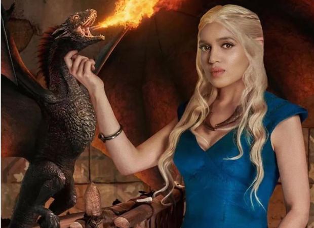 Bhumi Pednekar shares fan art of herself transforming in Emilia Clarke's Daenerys Targaryen from Game Of Thrones