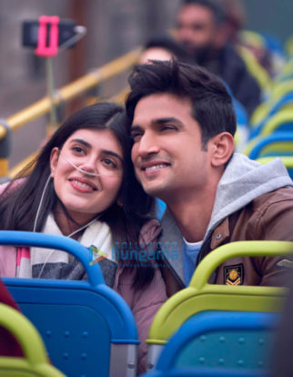 movie still of the movie Dil Bechara