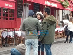 On The Sets From The Movie Dil Bechara