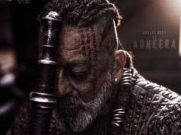 KGF: Chapter 2 makers release first look of Sanjay Dutt as the merciless villain Adheera on his birthday