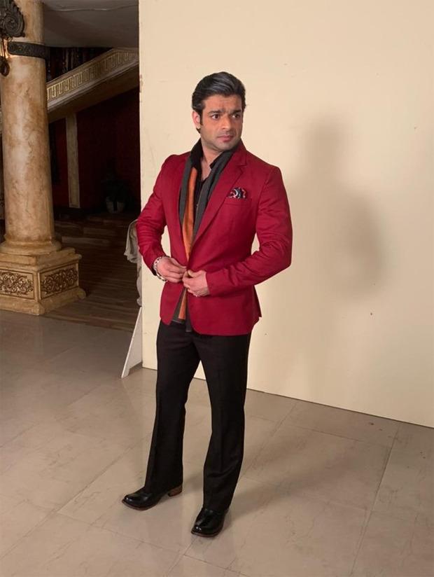 Karan Patel looks dapper in his new avatar for Mr. Bajaj in Kasautii Zindagii Kay