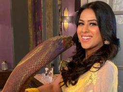 Naagin 4 Nia Sharma poses on the set with 'Naagin', Vijayendra Kumeria turns photographer