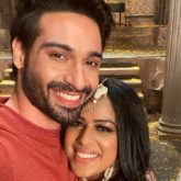 Naagin 4 Vijayendra Kumeria and Nia Sharma are all smiles as they post on the last day of shoot