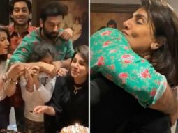 Ranbir Kapoor and sister Riddhima throw a party to celebrate mom Neetu Kapoor's 62nd birthday, Karan Johar joins the celebration