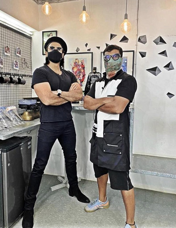 Ranveer Singh meets hairstylist to begin prep for Zoya Akhtar's gangster crime drama